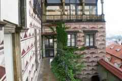 028 Pohled na klášter na jižní straně